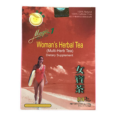 Women's Health | Magic 7 Woman's Herbal Tea | rootandspring.com