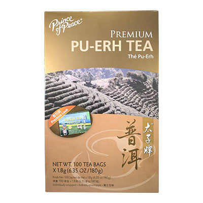 Herbal Teas | Prince of Peace 100% Premium Pu-Erh Tea | rootandspring.com