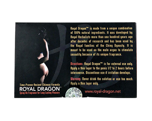 Men's Health | Royal Dragon Sexual Fragrance Spray | rootandspring.com