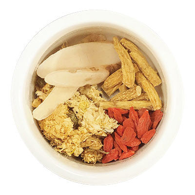 "Chinese Herbal Teas | Baby Chrysanthemum & Ginseng ""Energy Booster"" Herbal Tea 