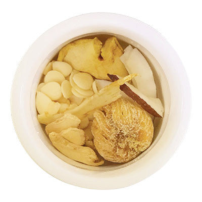 "Fresh Herbal Teas | Dried Ginger & Palm Coconut ""Beat The Bloat"" 