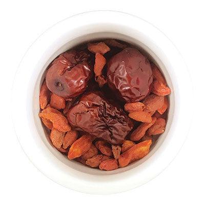 "Fresh Herbal Teas | Goji Berry & Red Dates ""Blood Revitalizer"" 
