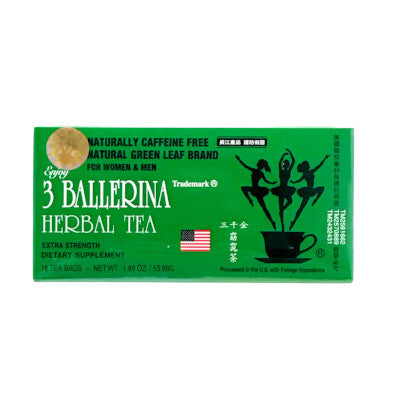 Weight Loss | 3 Ballerina Herbal Tea | rootandspring.com