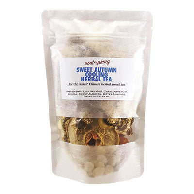 Fresh Herbal Teas | Sweet Autumn Cooling Herbal Tea (Lerng Cha) | rootandspring.com