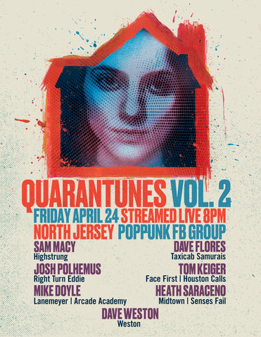 Quarantunes, Vol. 2 Poster!