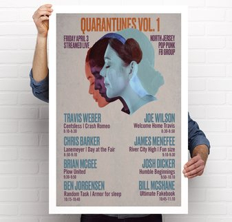 Quarantunes, Vol. 1 Poster!