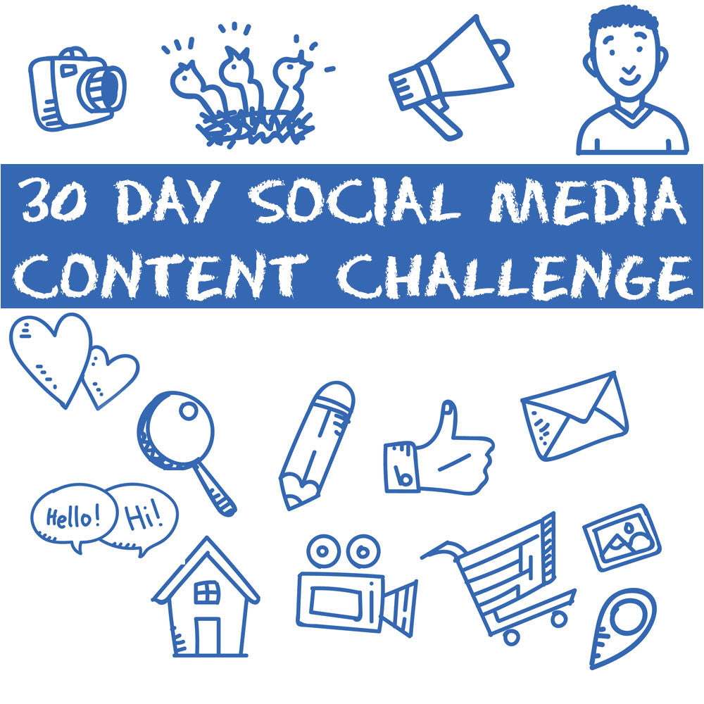 30 Day Social Media Content Challenge | JVI Mobile Marketing - South Boston, VA