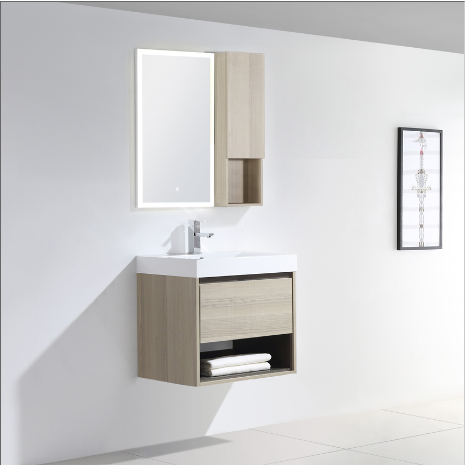 "Dowell 015 Series 24"" Grey Ashtree Vanity"
