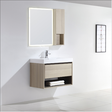 "Dowell 015 Series 30"" Grey Ashtree Vanity"
