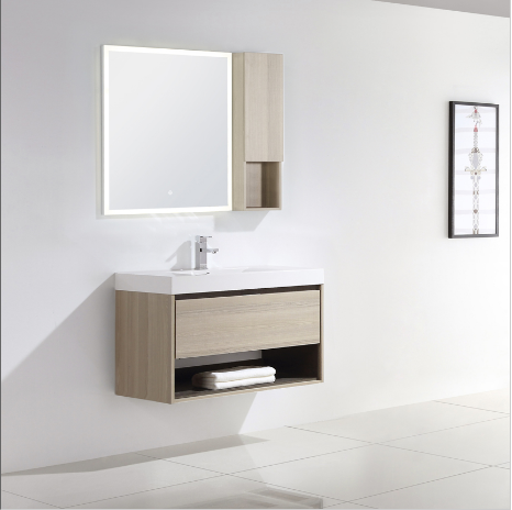 "Dowell 015 Series 36"" Grey Ashtree Vanity"