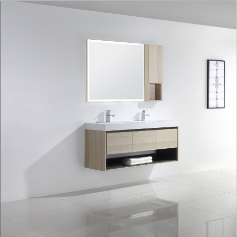 "Dowell 015 Series 48"" Grey Ashtree Vanity"