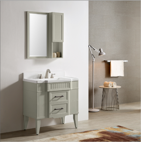 "Dowell 020 Series 33"" Gray-green Vanity"