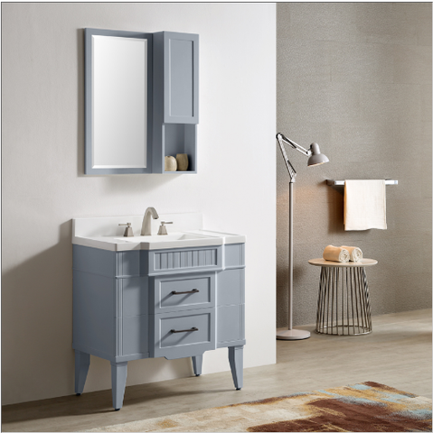 "Dowell 020 Series 30"" Gray-blue Vanity"