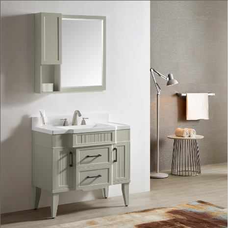 "Dowell 020 Series 36"" Gray-green Vanity"