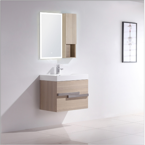 "Dowell 021 Series 24"" Grey Ashtree Vanity"