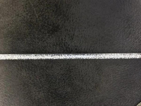 Decorative Glitter Strip Pewter 98 1/2 x 5/8 FT-BGS102