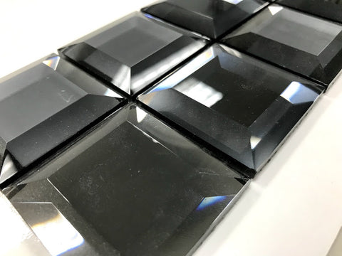 "Checkers Series CKR-112 Hermatite Square 11 3/4"" x 11 3/4"""