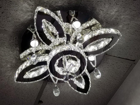 "LED Chandelier 24"" Round RV-2"