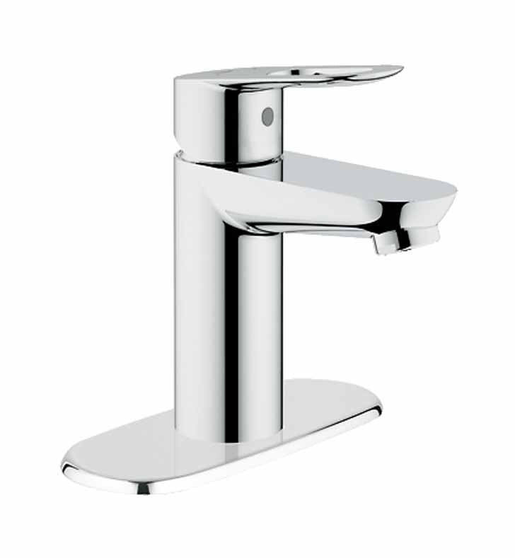 Grohe BauLoop Single Handle Faucet in Chrome GR-20334000