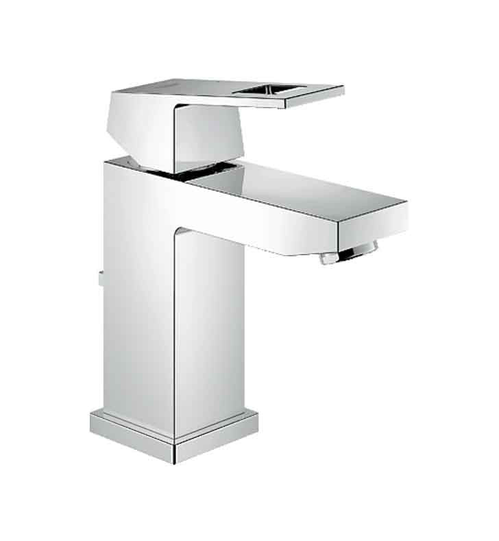 Grohe Eurocube Single Handle Faucet in Chrome GR-23129000