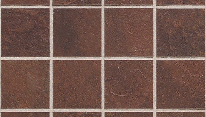Daltile CONTINENTAL SLATE ™ COLORBODY™ PORCELAIN INDIAN RED MOSAIC CS51