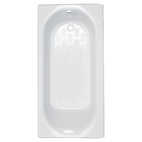 "American Standard Princeton 60"" x 34"" Luxury Ledge Americast Apron-Front Bathtub with Right Hand Drain 2395202.020"