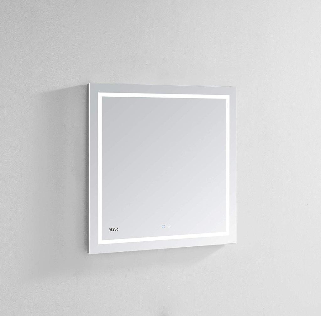 Aquadom LED Mirror Touch control with Dimmer Defogger Clock DAYTONA3030