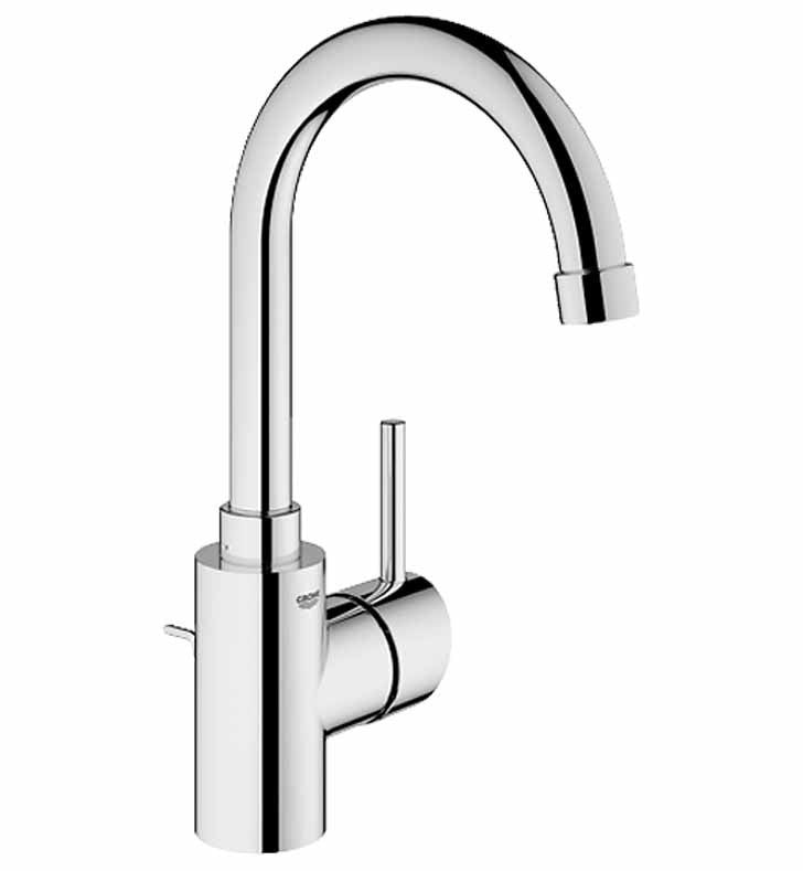 Grohe Concetto Single Handle Faucet in Brushed Nickel GR-32138EN1