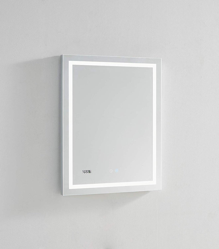 Aquadom LED Mirror Touch control with Dimmer Defogger Clock DAYTONA3630