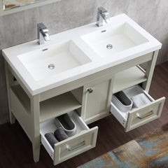 "Dowell 022 Series Gray Green 48"" Bathroom Vanity"
