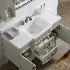 "Dowell 020 Series 48"" Gray-green Vanity"