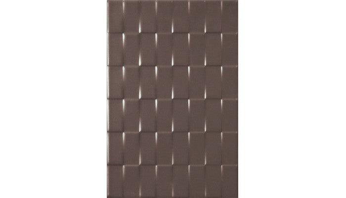 Olympia Tile Twill White Cocoa Matte 8 x 12 Ceramic (Call for Price)