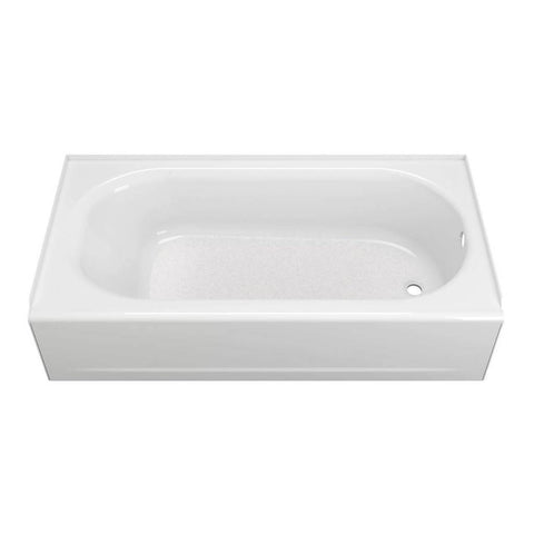 "American Standard Princeton 60"" x 30"" Americast Above-Floor Rough-In Bathtub with Right Drain and Built-In Overflow 2393202ICH.020"