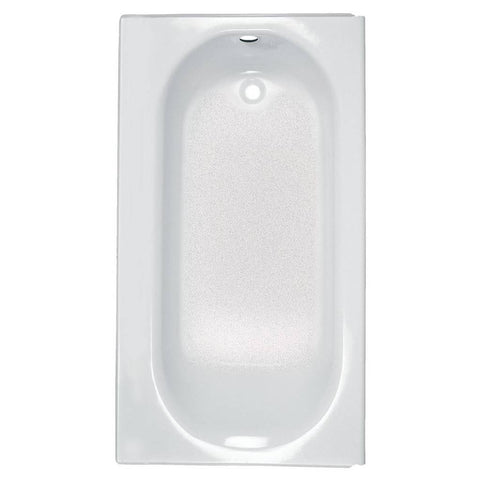 "American Standard Princeton Luxury Ledge 60"" x 34"" Americast Above-Floor Rough-In Bathtub with Right Drain 2397202.020"