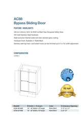 iStyle Shower Door AC88