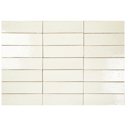 "Hudson Series Beach Sand 2"" x 8"" Glazed Brick"