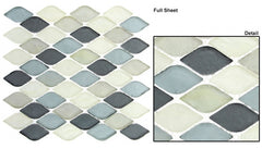 Aquatica Series Glass Mosaic Grey Scale AQ-2006