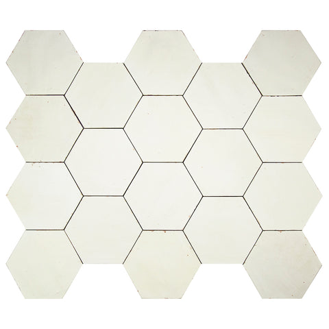 "Casablanca Series Cloud 5.5"" x 6.3"" Hexagon"