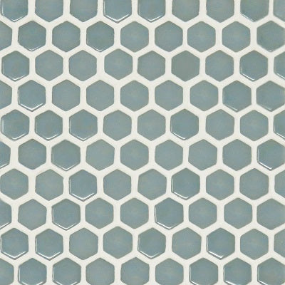 "Fusion Series Cloud Small Hexagon on 12"" x 12"""