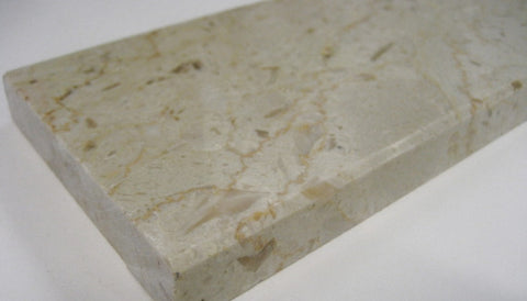 Marble Door Saddle/Threshold Perlato 2 Bevels (Multiple Sizes in Stock!)