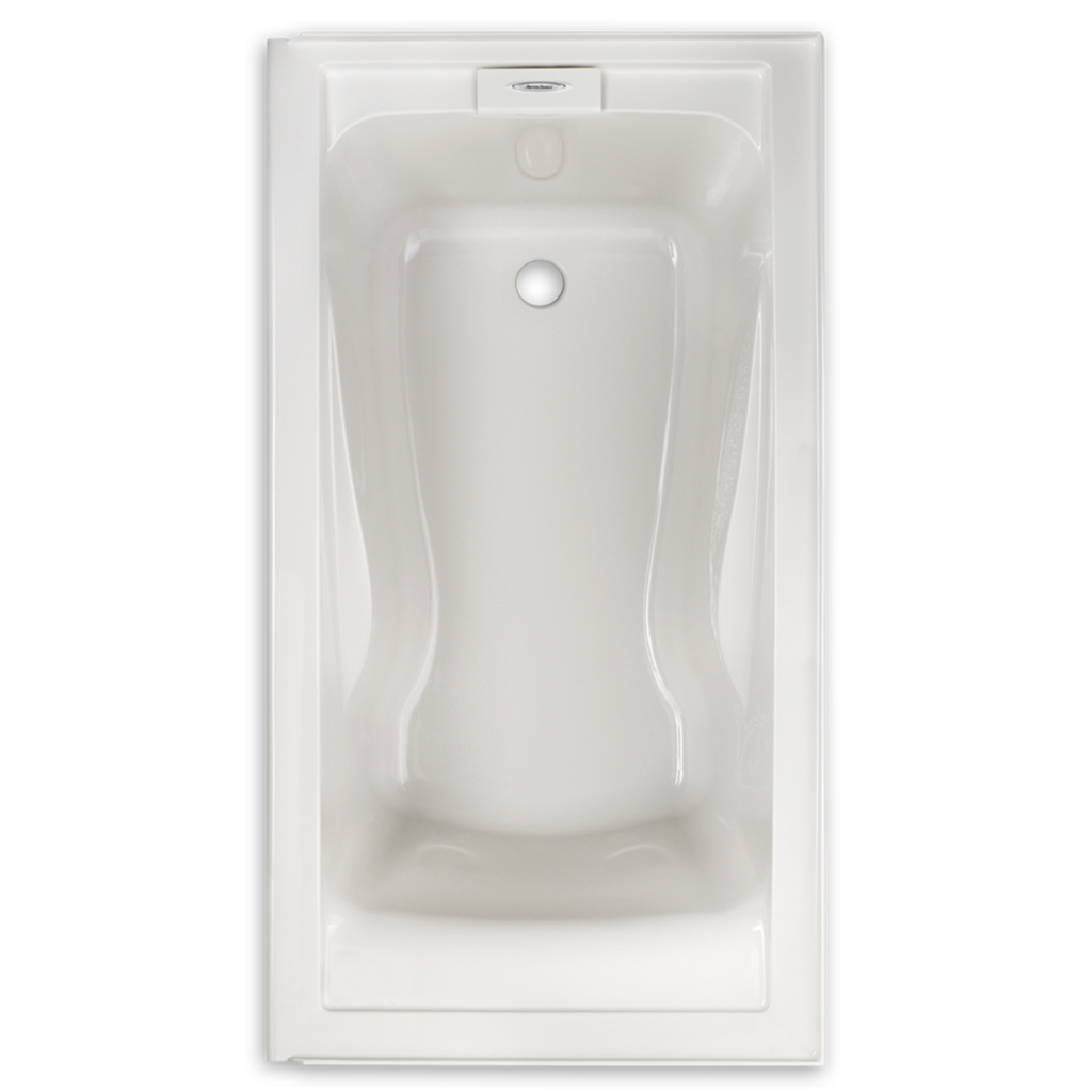 "American Standard Evolution 60"" x 32"" Deep Soak Integral Apron Bathtub 2425V-RHO002.020"