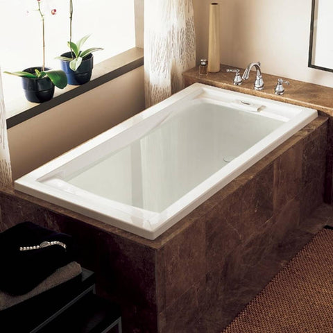 "American Standard Evolution 72"" x 36"" Deep Soaking Tub with Reversible Drain 7236V002.020"