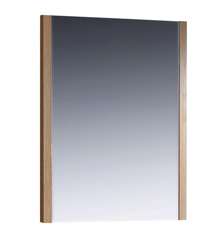 "Fresca FMR6230LO Torino 26"" Light Oak Mirror"