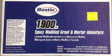 Bostik 1900 Epoxy Modified Grout & Mortar Admixture Bostik1900-Epoxy