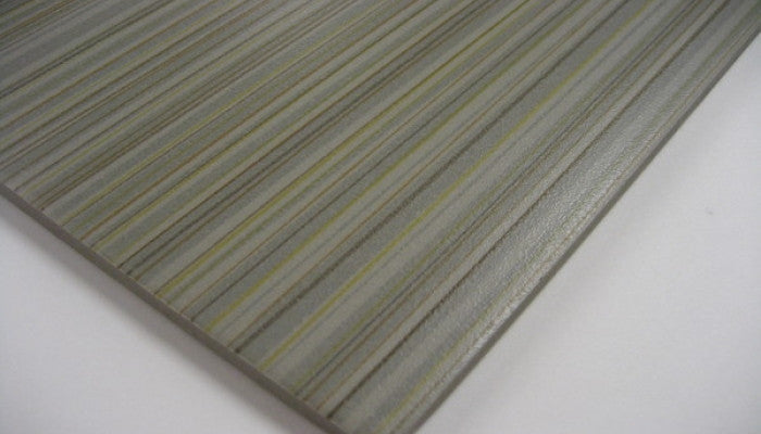 Crossville Color Blox Stripes Celery Stalk 12 x 12 Porcelain Wall & Floor Tile