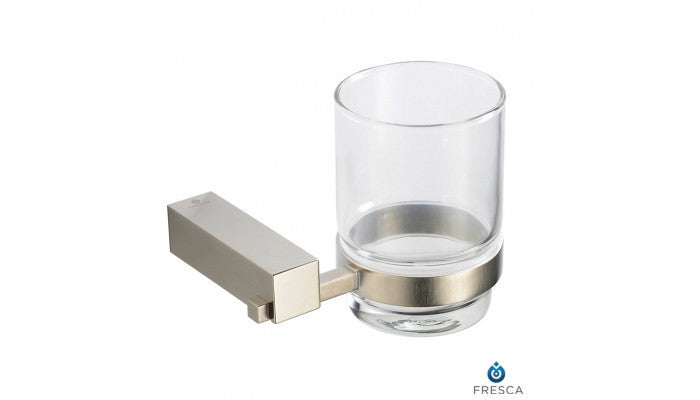 Fresca Ottimo Tumbler Holder in Brushed Nickel FAC0410BN