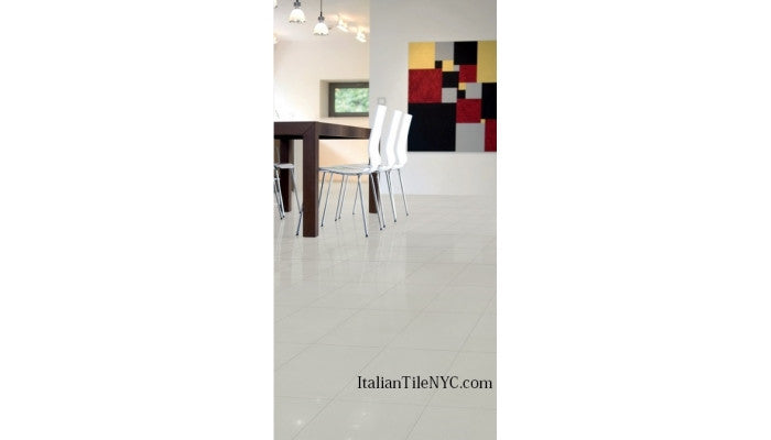 Chroma Bianco 12 x 24 Porcelain Floor Tile