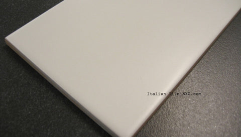 Gatineau 4 x 16 Matte White Ceramic Wall Tiles (Call for Price)