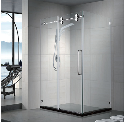 Pasgo Shower Door LY9505 Polished Chrome