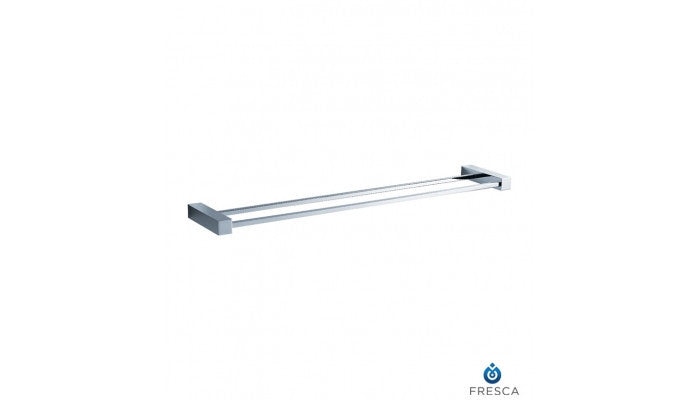 "Fresca Ottimo 26"" Double Towel Bar in Chrome FAC0440"
